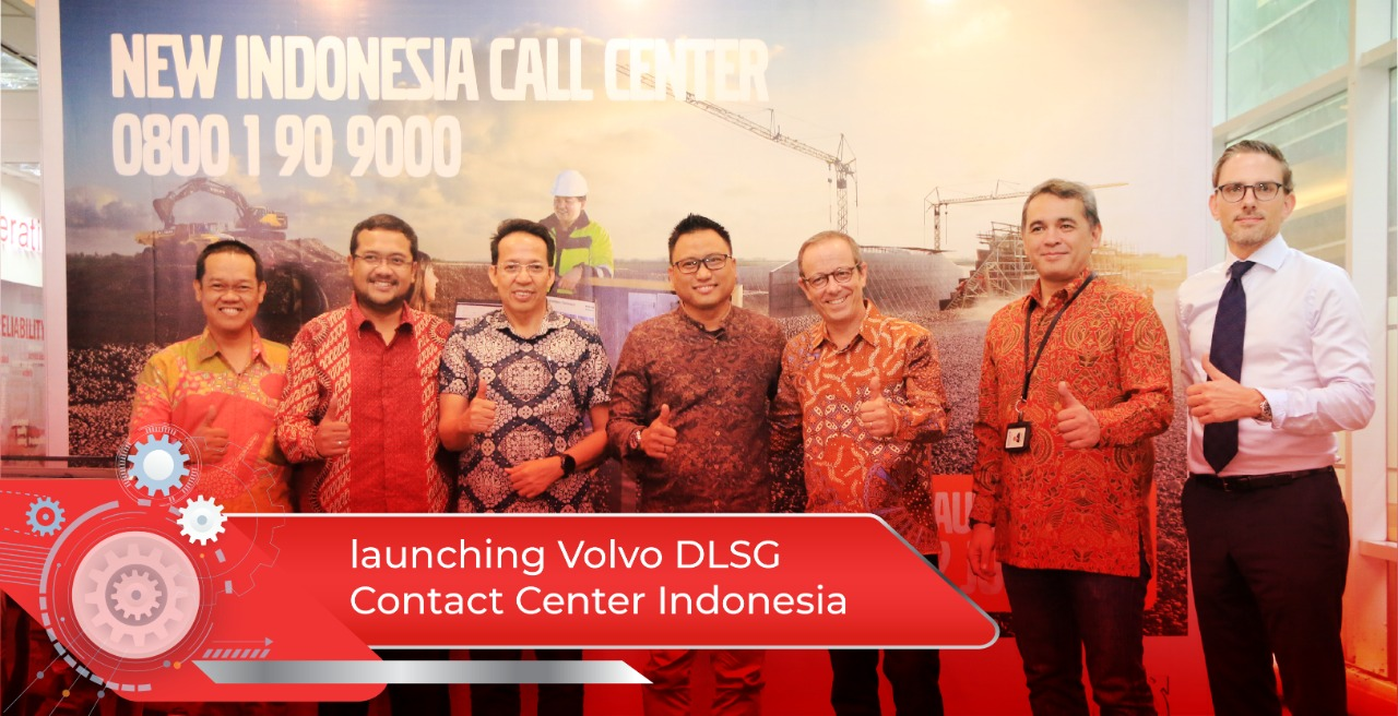The Grand Launching of New Volvo Indonesia Contact Center