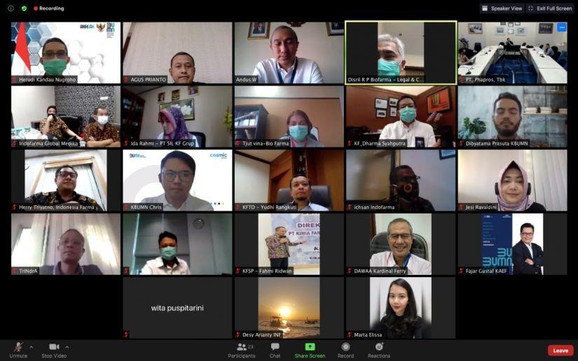 Infomedia Sukses Selenggarakan Sosialisasi Shared Service untuk BUMN