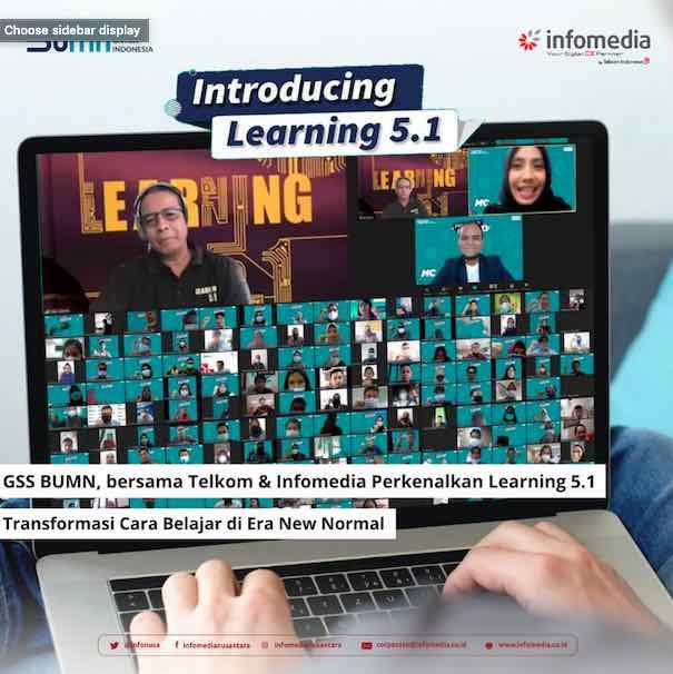 Global Shared Service Perkenalkan Learning 5.1, Transformasi Cara Belajar di Era New Normal