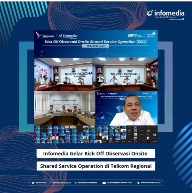 Infomedia Garap Shared Service Operation Telkom Regional